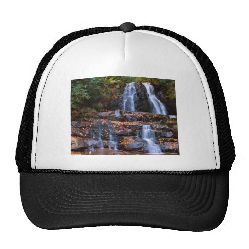 Autumn Waterfall Mesh Hat