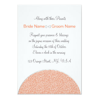 Autumn Wedding invite