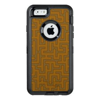 'Autumnal' Labyrinth Patterned OtterBox Defender iPhone Case