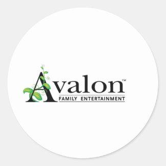 Avalon Logo Classic Round Sticker