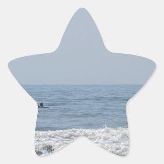 Avalon NJ beach Star Sticker