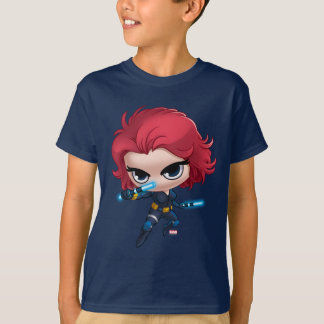 Avengers   Black Widow Stylized Art T-Shirt