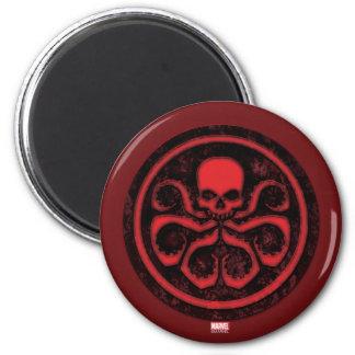 Avengers   Hydra Logo 6 Cm Round Magnet