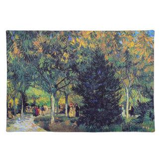 Avenue in the Park  Van Gogh Vincent Placemat