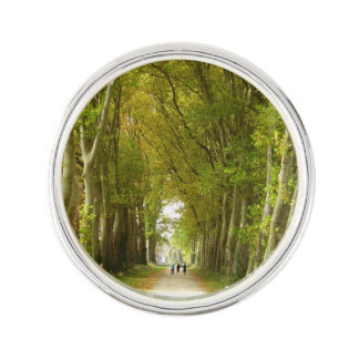 Avenue of Trees Lapel Pin