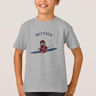 Aviator and His Plane T-Shirt
