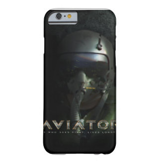 Aviator Fighter Pilot Helmet and HUD Barely There iPhone 6 Case