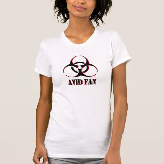 Avid Fan shirt with biohazard symbol