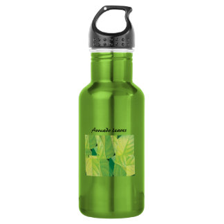 Avocado Leaves 532 Ml Water Bottle