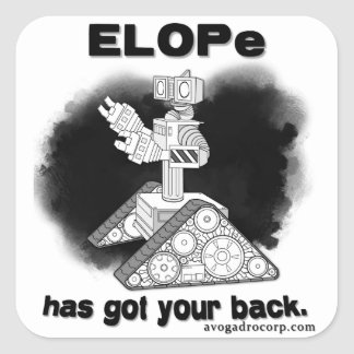 Avogadro Corp / ELOPe sticker (without gun)