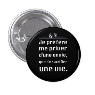 Avoir de l'éthique 3 cm round badge