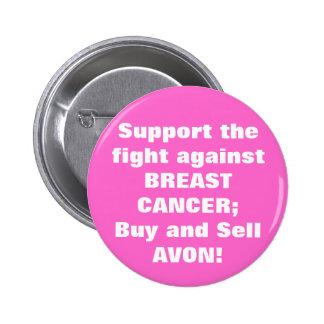 Avon: Breast Cancer button