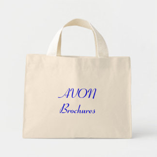AVON Brochures Mini Tote Bag