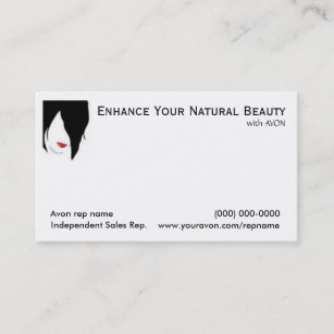 Avon business cards zazzle nz avon business cards beauty reheart Choice Image
