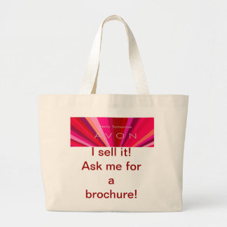 Avon, sell, tote