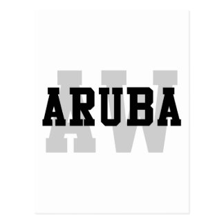 AW Aruba Postcard