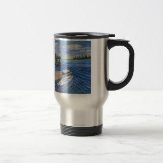 Awaiting Another Adventure travel mug