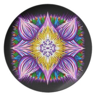 Awakening Mandala Plate