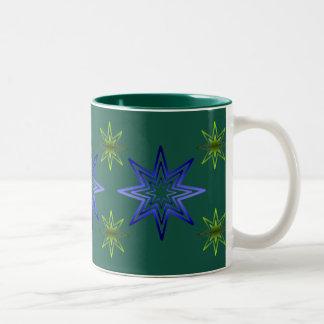 Awakening Star On Forest Coffee Mugs
