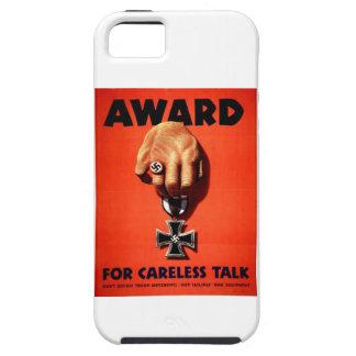 Award For Careless Talk iPhone 5 Cases