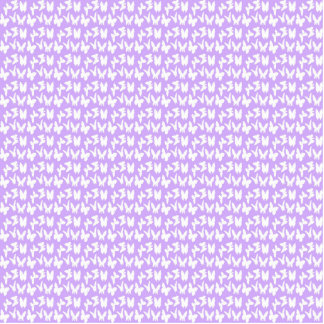 Awareness Butterflies on Lilac Purple Photo Sculpture Magnet