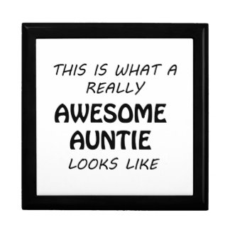 Awesome Auntie Gift Box