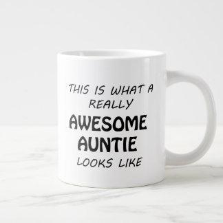 Awesome Auntie Large Coffee Mug