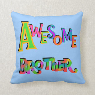 Awesome Brother T-shirts and Gifts Throw Pillow