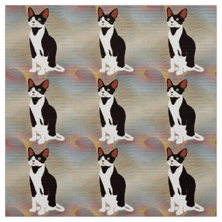 Awesome Cat Fabric