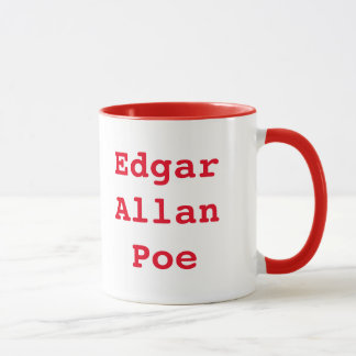 Awesome Edgar Allan Poe Coffee Mug