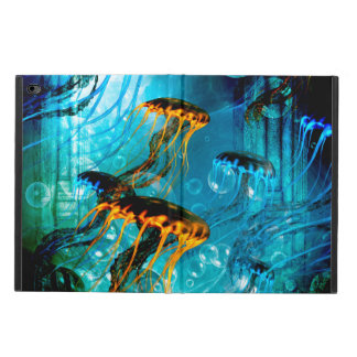 Awesome jellyfish,underwater world powis iPad air 2 case