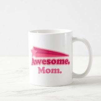 Awesome Mom Gift Idea Basic White Mug