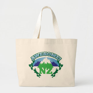 Awesome NEW ZEALAND! with mountains Jumbo Tote Bag