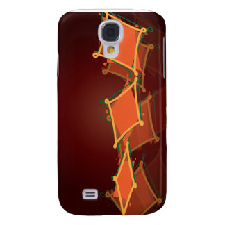awesome orange galaxy s4 case