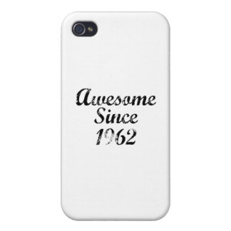 Awesome Since 1962 iPhone 4/4S Case