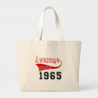 Awesome Since 1965 Large Tote Bag