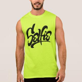 Awesome Skateboard Graffiti Selfie Street Art Sleeveless Shirt