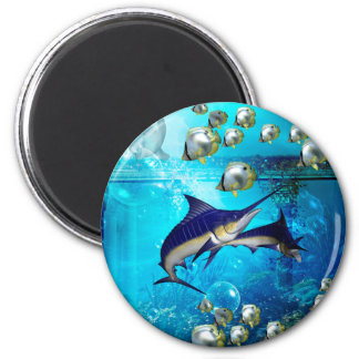 Awesome underwater world magnet