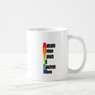 awesome unique minds basic white mug