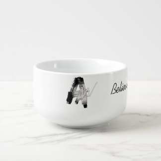 Awesome Writer Soup Cup Soup Bowl With Handle