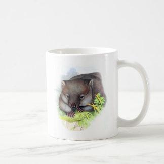 Awesomely cute Australian animal wombat vintage Mug