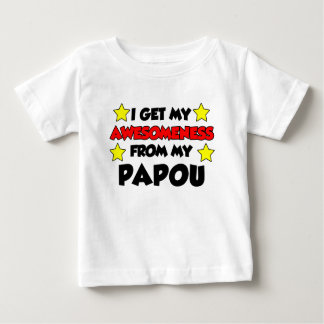 Awesomeness From My Papou Baby T-Shirt