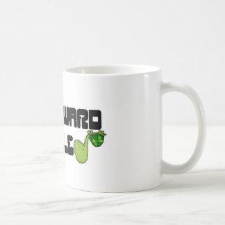 Awkward turtle basic white mug