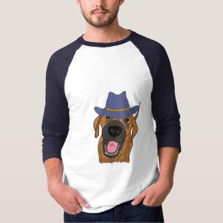 AY- Cool Dog in a Cowboy Hat Shirt