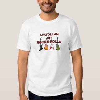 Ayatollah Of Rock-N-Rolla T-shirts