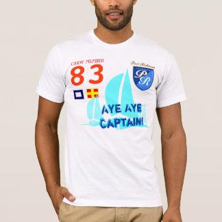 Aye Aye Captain Funny Nautical T-Shirt