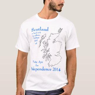 Aye for Independence Scotland Tshirt