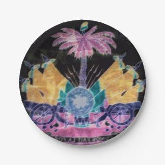 AYITI CHERI HAITI HONEY MandyMonumental DESIGN Paper Plate