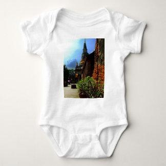 Ayutthaya. Wat Yai Chai Mongkol. Baby Bodysuit