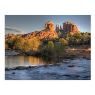 AZ, Arizona, Sedona, Crescent Moon Recreation 3 Postcard